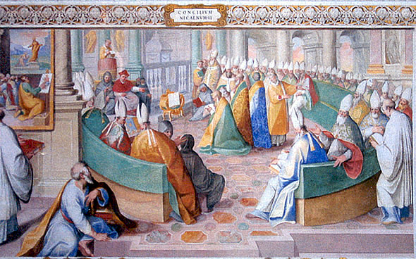 The Council of Nicea, Sistine Chapel