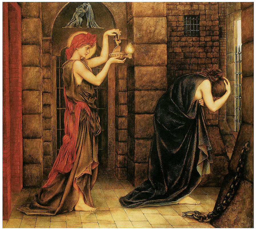 Hope in the Prison of Despair, by Evelyn Morgan (1855--1919)