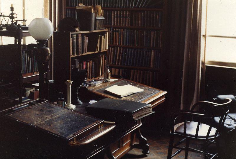 Newman's desk in the Birmingham Oratory