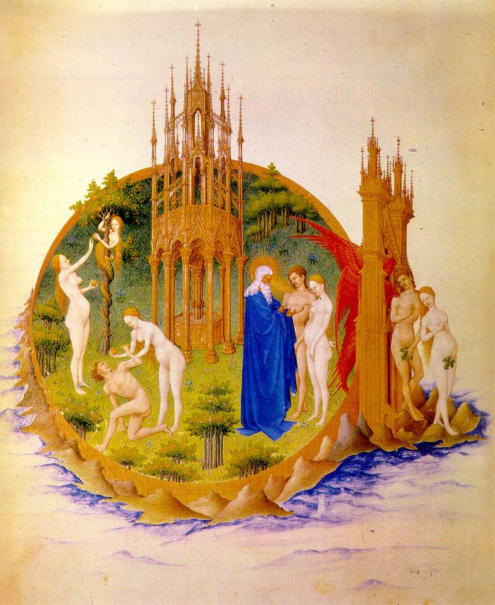 Temptation, Fall, and Expulsion, Brothers Limbourg