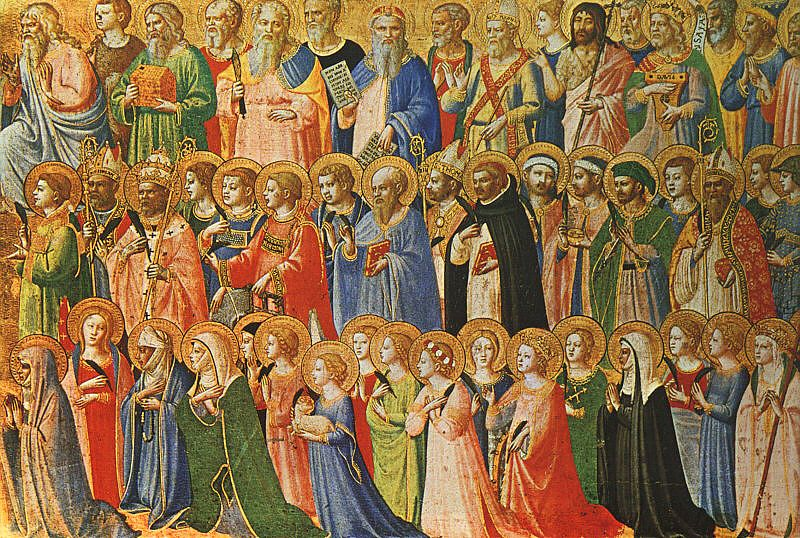 Image result for communion of saints
