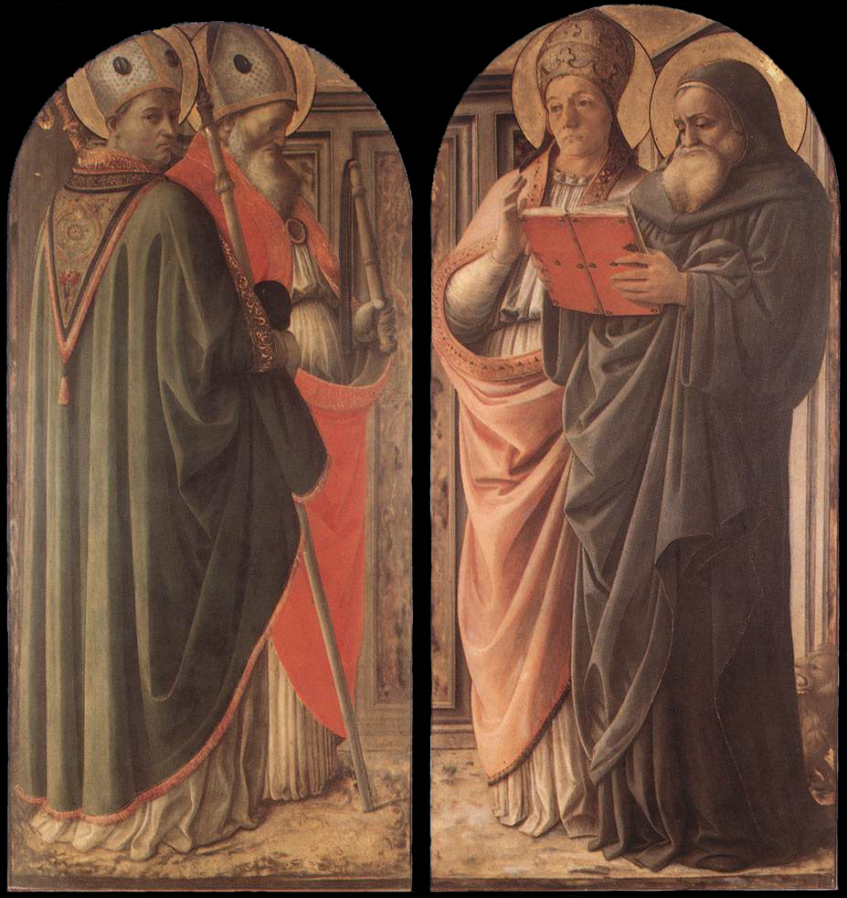 Lippi's The Doctors of the Church