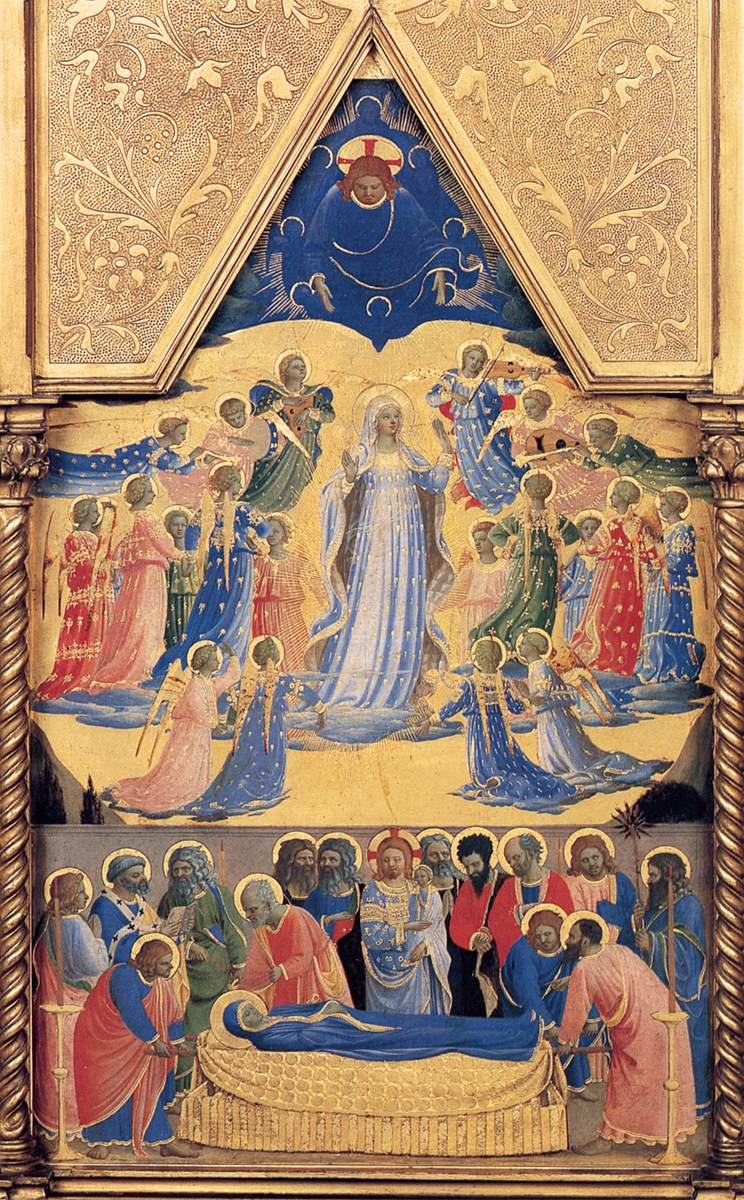 solemnity of the assumption of the virgin mary into heaven called