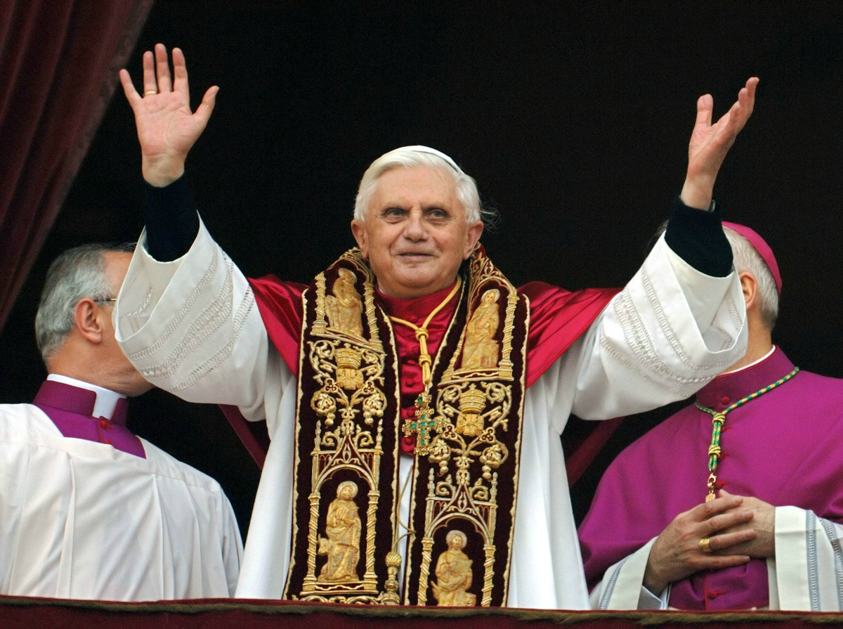Pope Benedict XVI, April 19, 2005
