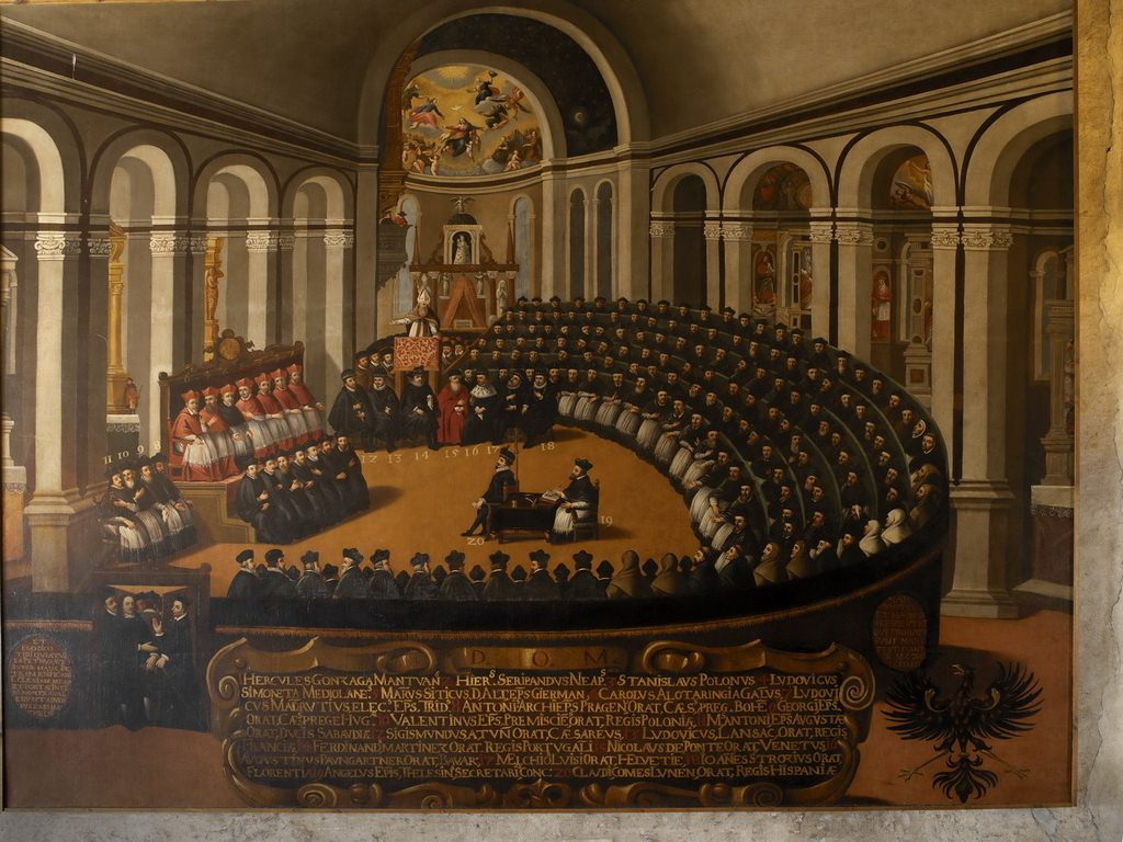 the council of trent Comprised of three major meeting periods between 1545 and 1563, the council of trent marks a turning point in the history of early modern catholicism, one consciously differentiating roman.