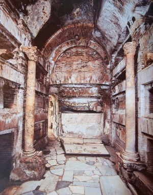 The Crypt of the Popes in the Catacombs of Callistus